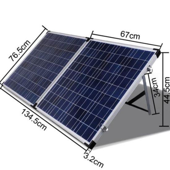 120W Folding, Portable Solar Panel Foldable for Charging Caravan Battery