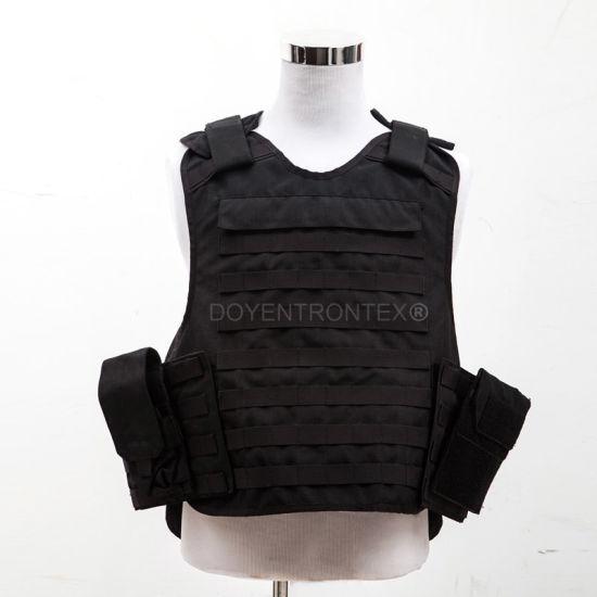 Black PE Bulletproof Vest (TYZ-BV-096)