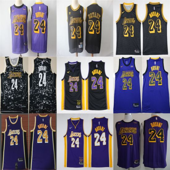 2019 Wholesale Los Angeles Lakers Kobe Bryant Stitched Basketball Jerseys