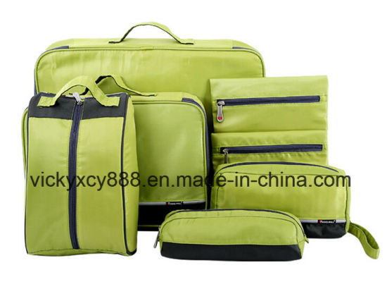 Waterproof Business Travel Bag Storage Set Cosmetic Cable Bag (CY1889) pictures & photos