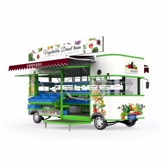 JEKEEN High Quality Electric Mobile Fruit and Vegetable Truck-50