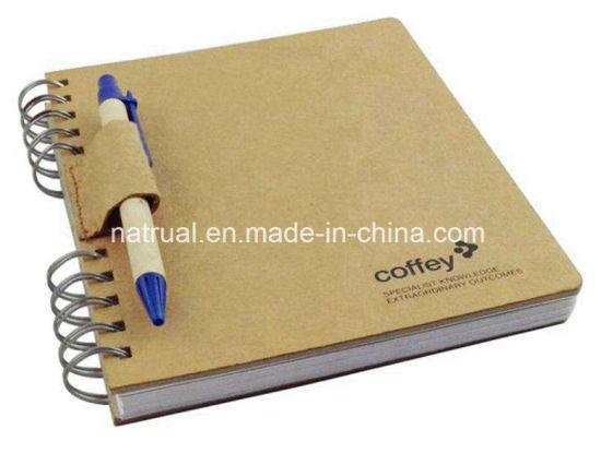 Custom Kraft Paper Notebooks, Screw Binding China