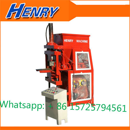 Hr1-10 High Quality Hydraulic System Fully Automtic Interlocking Clay Lego Brick Making Machine Supplier