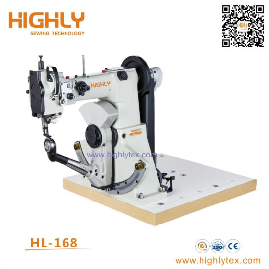 Hl-168 Double Thread Side Seam Shoes Sewing Machine