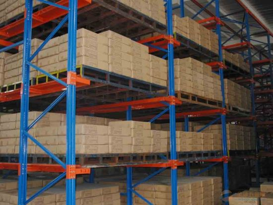 Multi-Tier Warehouse Industrial Mezzanine Pallet Racking