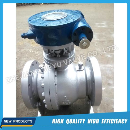 API Gas Industrial Flange Stainless Steel Floating Ball Valve pictures & photos