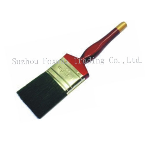 Black Bristle Paint Brush with Wooden Handle (FX-PB011) pictures & photos