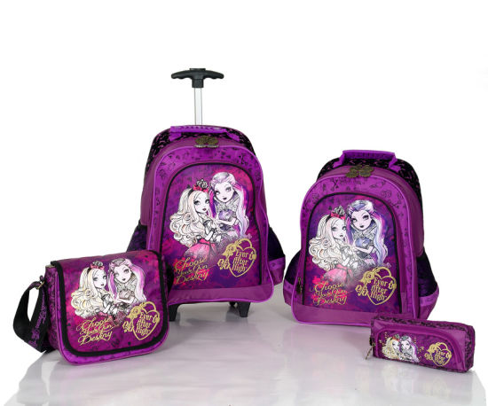Ever After High Trolley Backpack (BSH20673) pictures & photos