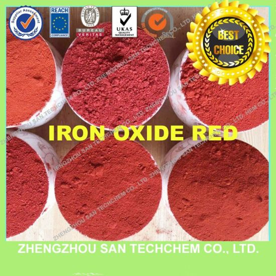 Iron Oxide Red Pigment Fe2o3 for Paint and Brick pictures & photos