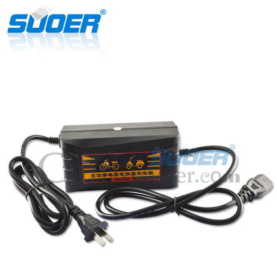 Suoer 48V High Power Smart Fast Electric Bike Battery Charger (SON-4820) pictures & photos