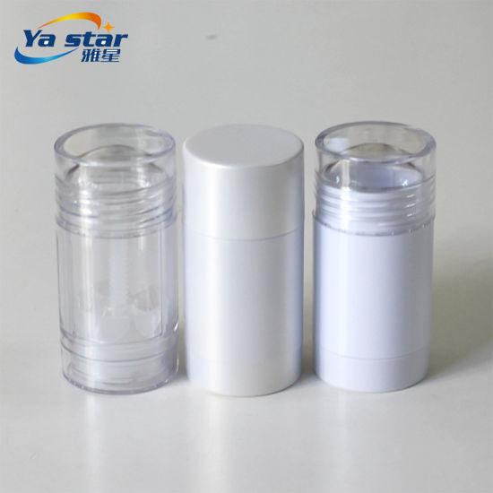 Wholesale Round Stocked Empty Plastic Cream Deodorant Container Stick