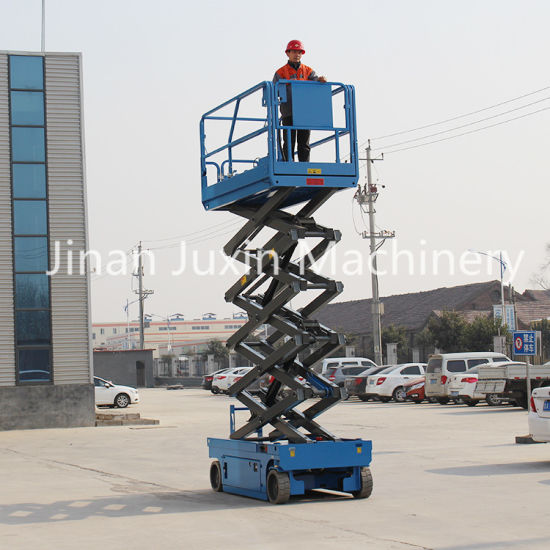 China Factory Manufacture Self Propelled Mobile Scissor Lift