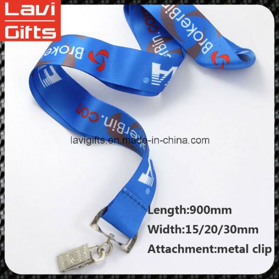Customized Neck Lanyard with Printing Logo pictures & photos