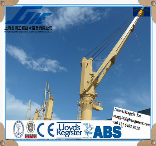 Electric Hydraulic Marine Ship Deck Crane pictures & photos