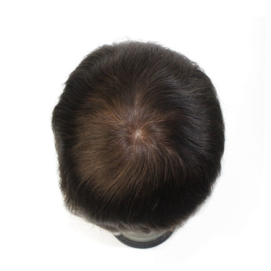 Custom Made French Lace Man Toupee Remy Hair