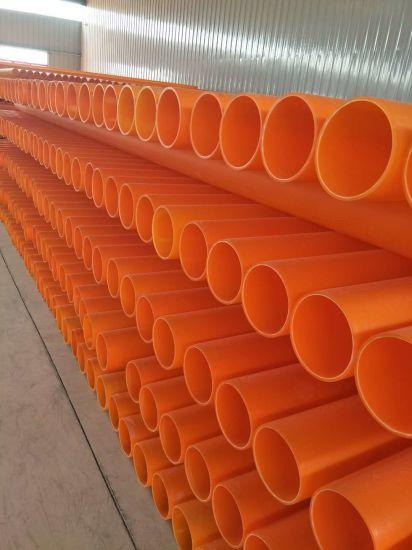 Orange Mpp Power Pipe Protection Plastic