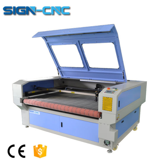 Cheap Price Higher Precision Automatic Fabric CNC Laser Cutting Machine pictures & photos