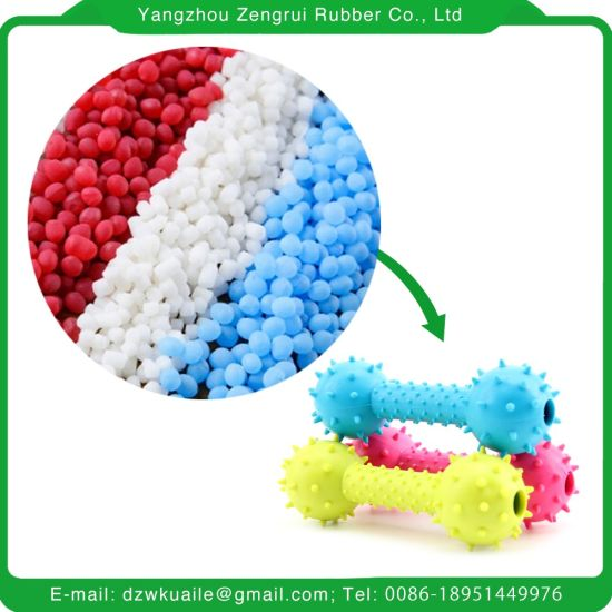 Crystal TPE Compound Granules Pellets Material pictures & photos