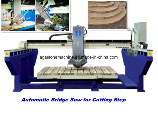 Diamond Saw Blade Stone Cutting Machine for Granite Slab Xzqq625A pictures & photos
