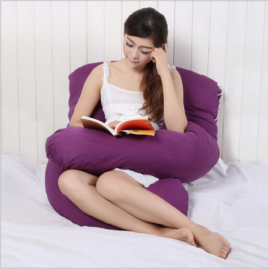 Cotton Soft U-Shaped Pregnant Body Pregnancy Pillow pictures & photos