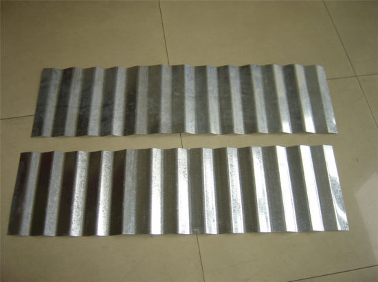 Galvanized Steel Corrugated Metal Sheet Building Material pictures & photos