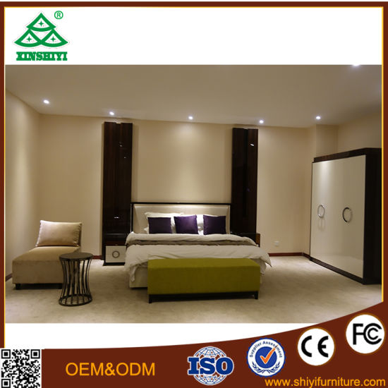 Modern Hotel Bedroom Furniture Bedroom Set Wooden Furniture Luxury Custom 5 Star pictures & photos