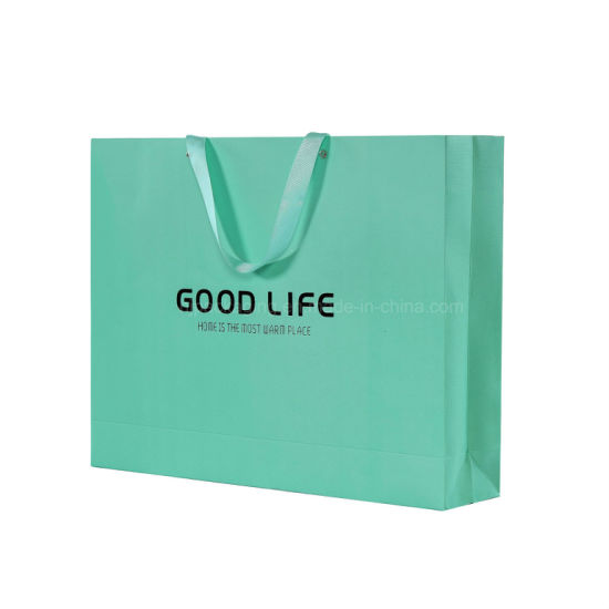 with Logo Stamping and Pink Printing Paper Gift Bag, Gift Bag Printing for Clothes pictures & photos