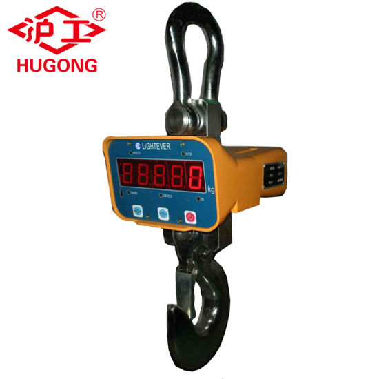 Hook Weighing Scale Electric Crane Hoist Digital Scale 3 Ton 5 Ton 10 Ton