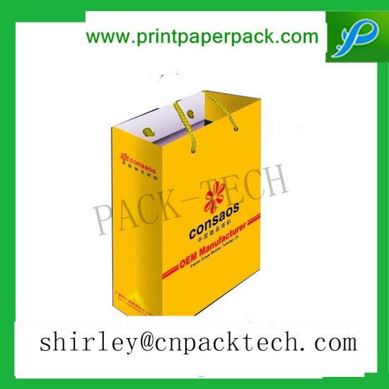 OEM Customized Rigid Paper Gifts Apparel Handle Bag