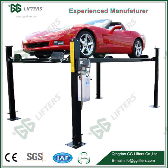China Factory Price Commercial Grade 4-Post Garage Equipment