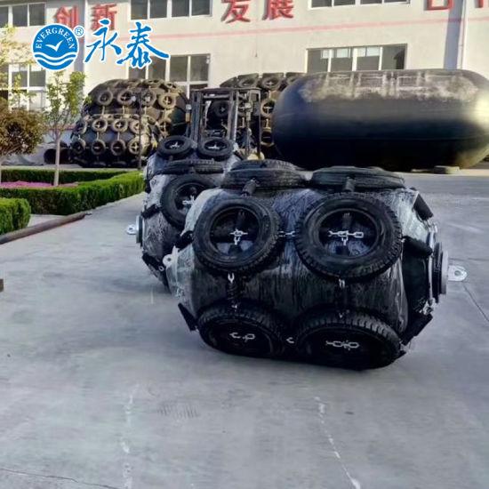 1000X1500mm Cylindrical Buoy Marine Foam Filled Fender