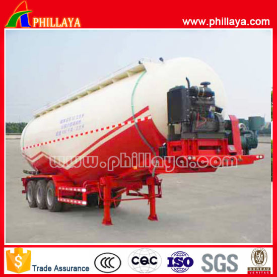 China Phillaya Brand 3 Axles 30-70 Cbm Engine Compressor