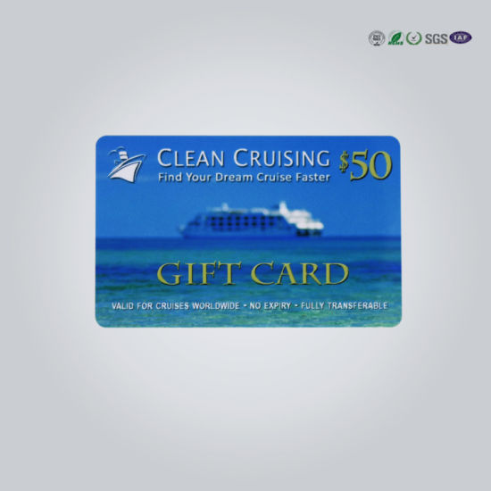 Luxury Gift Card/Print Gift Cards/Barcode Gift Card pictures & photos