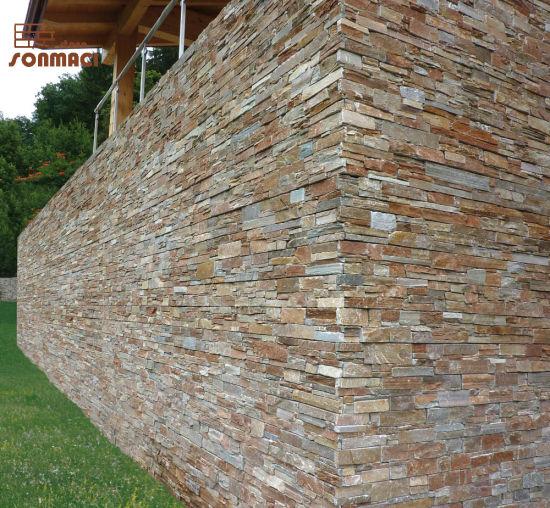China Rusty Slate Decorative Exterior Wall Panels For Garden China