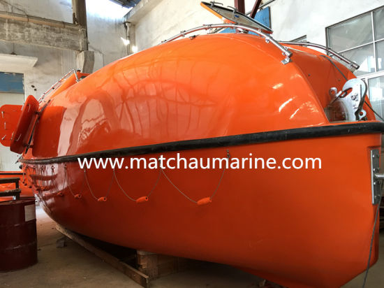 Totally Enclosed Tanker Using Fibreglass Motor Life Boat pictures & photos