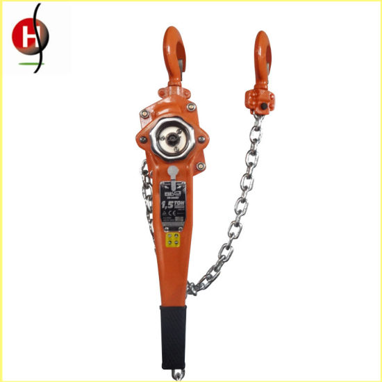 Hsh Lever Chain Block Top 0.75t 3m Lever Hoist pictures & photos