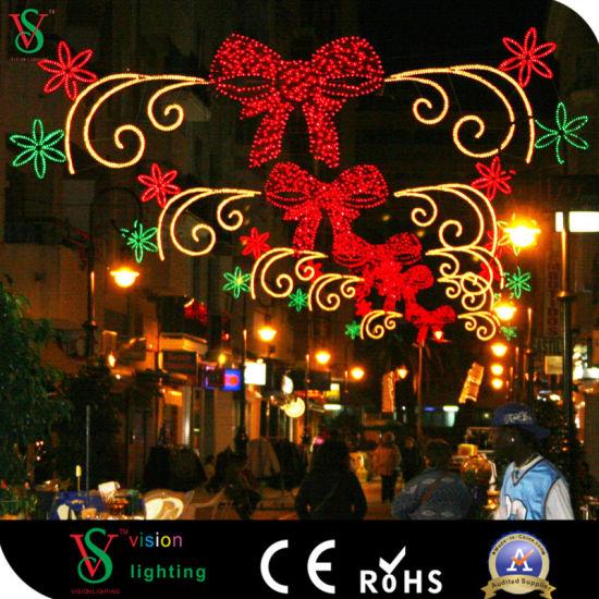 LED Christmas Outdoor Street Decoration Motif Lights