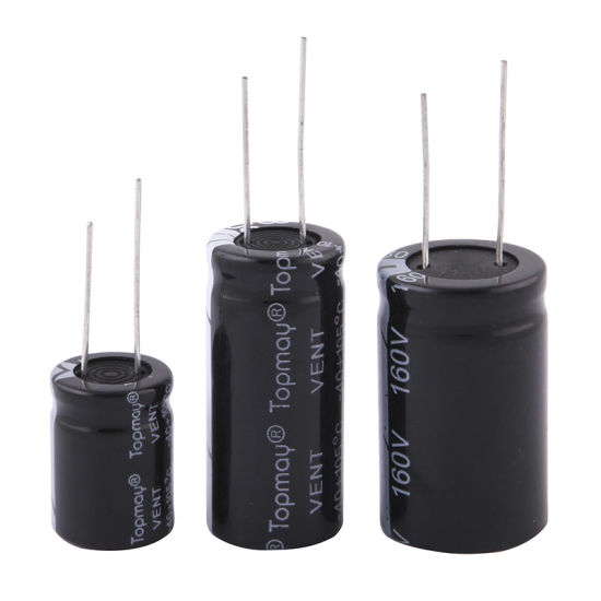 160V Aluminum Electrolytic Capacitor 105c pictures & photos