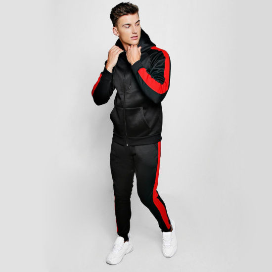 Active Unisex Stretch Tracksuit with Custom Logo Hot Selling pictures & photos
