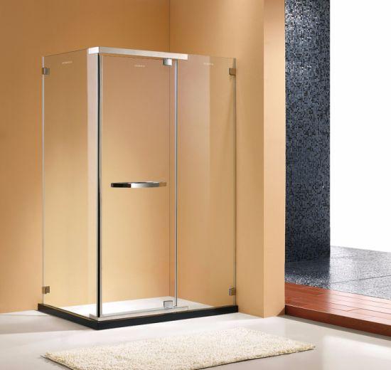 46 X 34 72 Dimension Stainless Steel Frameless Pivot Shower Screen