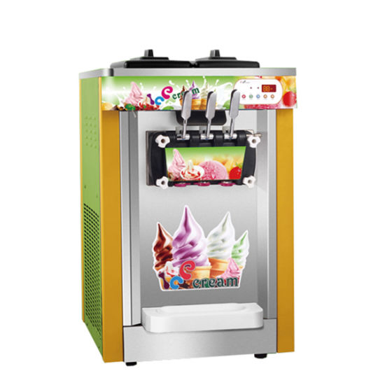 New Table Top Type Yogurt Soft Serve Ice Cream Machine For Commercial