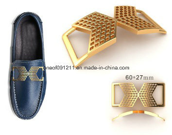 China Men Metal Shoe Buckle and Accessories