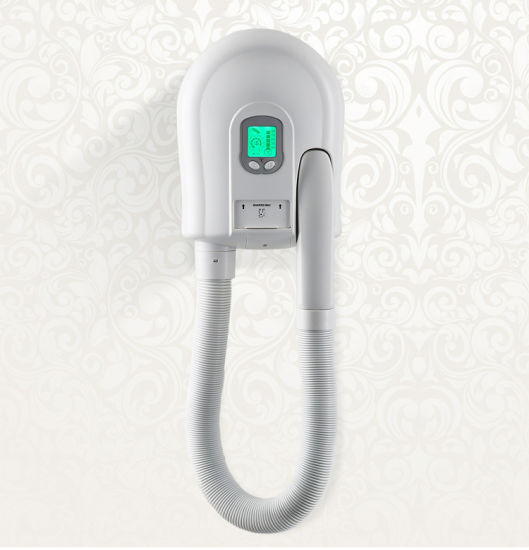 High Efficiency Wall-Mounted ABS White Hotel Bathroom Body/ Skin and Hair Dryer pictures & photos