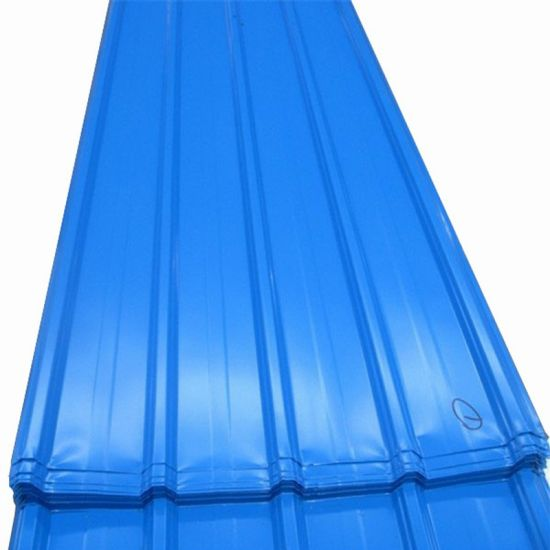 Building Material Color Coated PPGI Corrugated Steel Roofing Sheet