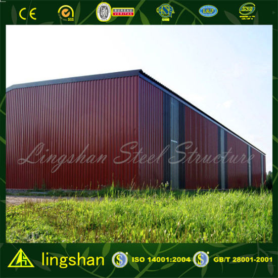 Ligshan Steel Structure Warehouse & Workshop Shed pictures & photos