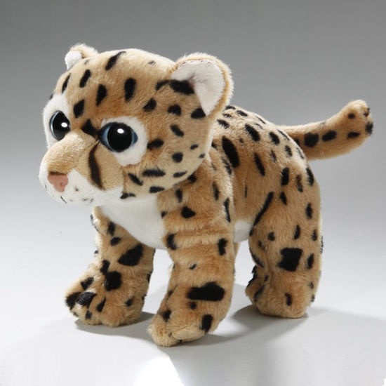 Cute Cartoon Leopard Cat Stuffed Short Plush Doll pictures & photos