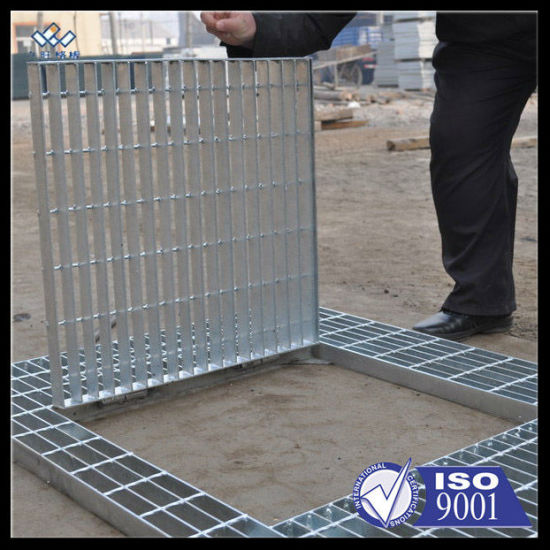 Galvanized Steel Hinged Drain Grating pictures & photos