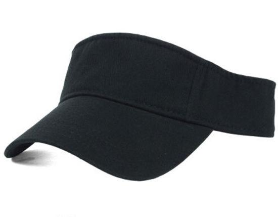 6ef1aeae105 Fashion Great Black Sun Visor Cap (SU 008)