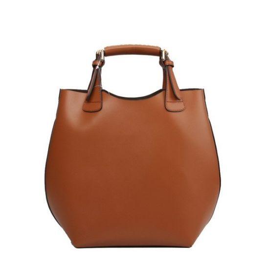 28bc0ea07d China Luxury Design Lady Tote Bag Wholesale Handbag Cowhide Leather ...