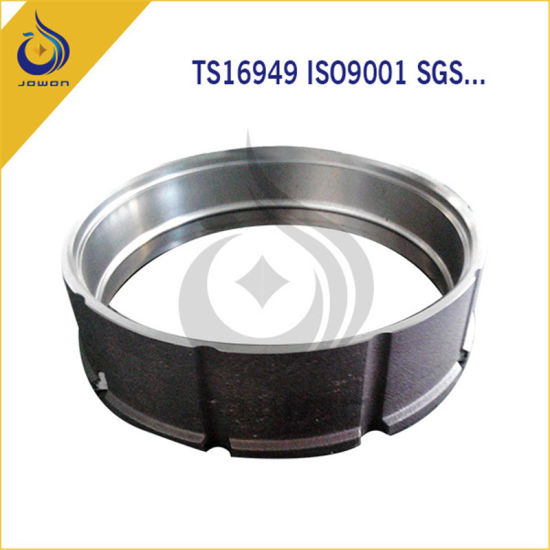 Iron Casting Spare Parts Wheel Shell Supplier Qingdao pictures & photos